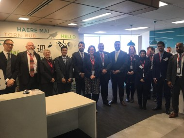 NZRise members present to GovTech delegation from Saudi Arabia