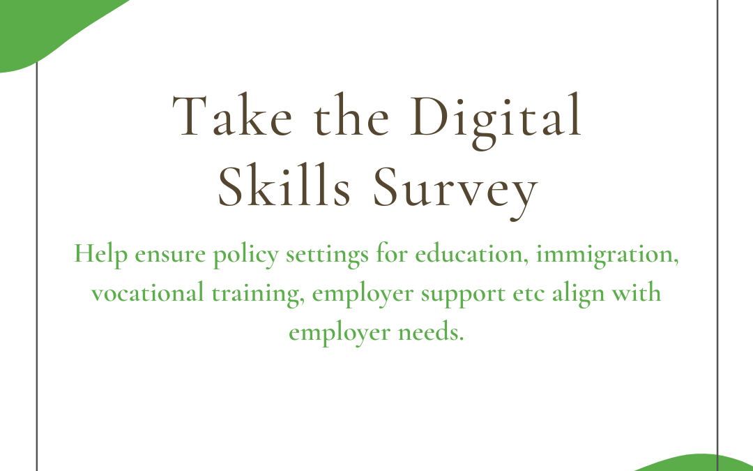 Digital Skills Survey – employers we need your help