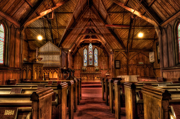 Akaroa Church Interior