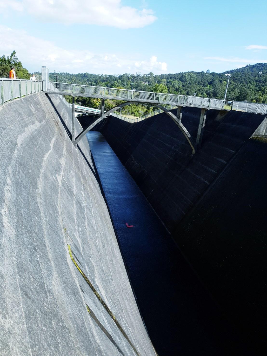 Lower Nihotupu Spillway | Watercare | Water Supply | taken by Kerryn Swanepoel