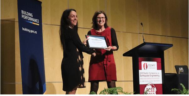 Earth Dam researcher wins Ivan Skinner prize