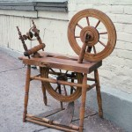 My New Old Wheel From Quebec Part 1 New Zealand Spinning Wheels And Their Makers