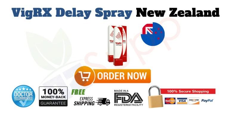 Buy VigRX Delay Spray in New Zealand