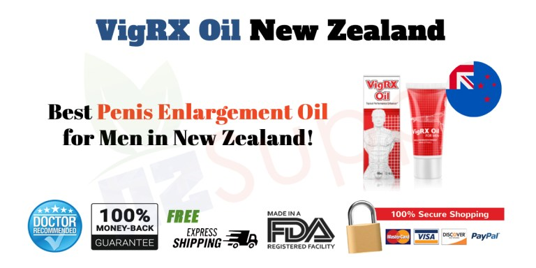 VigRX Oil New Zealand Review