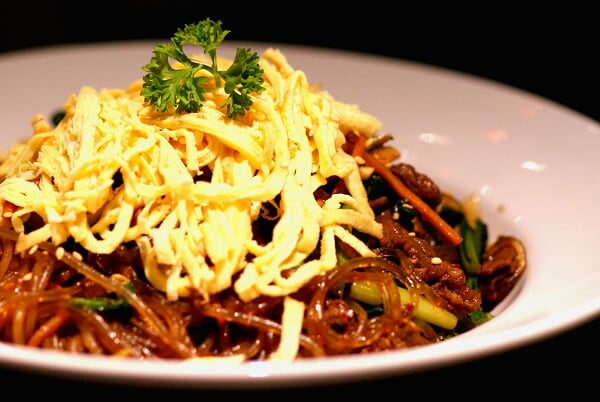 Fried Glass Noodle with Beef