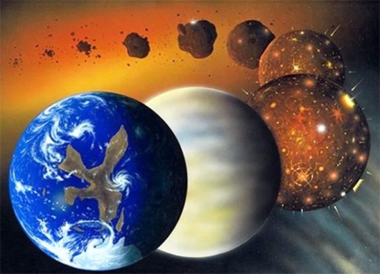 Formation de la planète