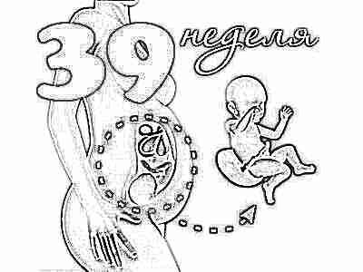 Активное шевеление плода на 39 неделе беременности (28 ...