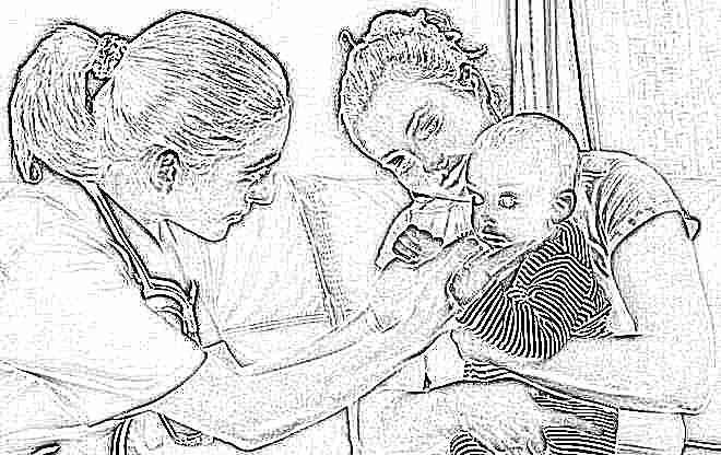 Красные щеки при температуре у ребенка