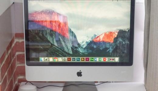 iMacがあるよ!