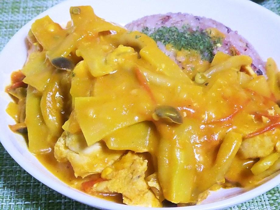 バターチキントマトカレー