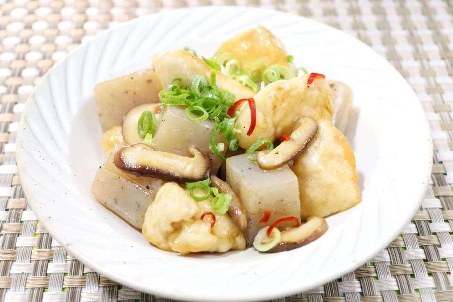 鶏胸肉とこんにゃくの炒め煮