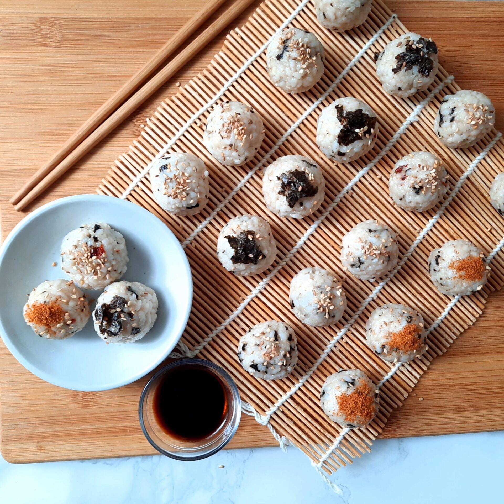 Jumeok-bap: Korean seaweed rice balls