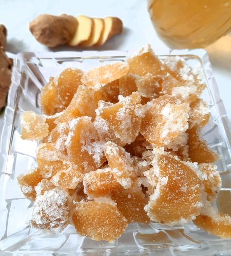 Easy Crystallized or Candied Ginger Recipe