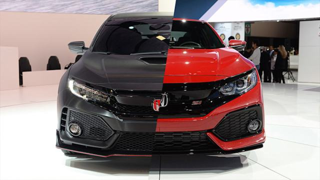 2017 Honda Civic Si and Type R