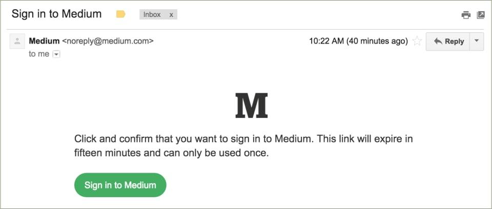 Parole dordine delle fosse di medium per i collegamenti monouso del email