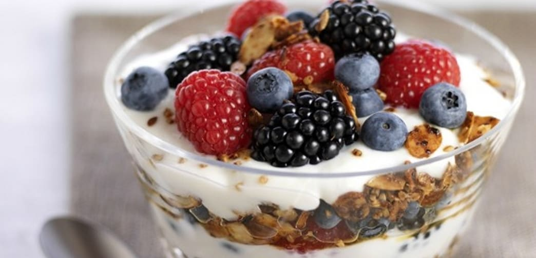 Image result for greek yogurt and granola
