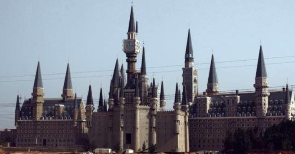 PHOTOS La Chine Copie Le Poudlard De Harry Potter Et En