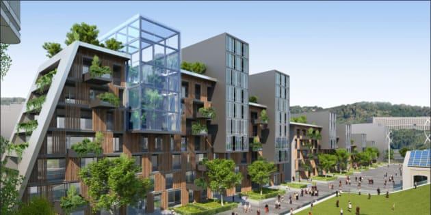 Ville Du Futur Larchitecte Vincent Callebaut Imagine L