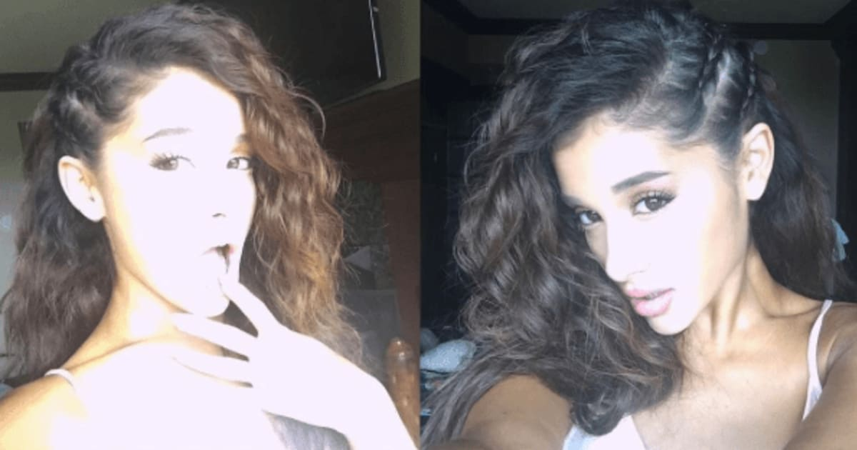 Ariana Grande Changes Up Hairstyle Ari With Curly Hair