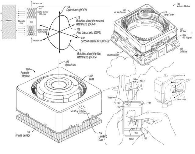 iPhone 6 contaría con estabilización óptica en su cámara según una patente