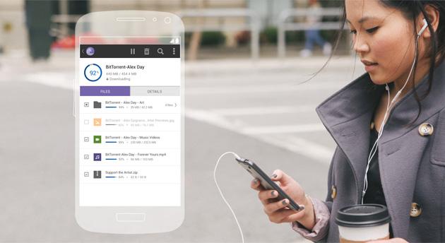 BitTorrent Android app 2.0