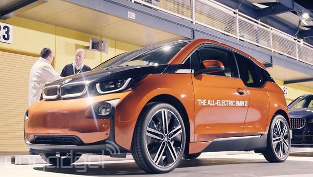 Le nuove iluminazioni pubbliche di BMW faranno pagare la vostra automobile elettrica