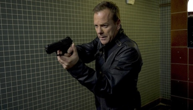 24:  LIVE ANOTHER DAY:  Kiefer Sutherland as Jack Bauer.  24:  LIVE ANOTHER DAY is set to premiere Monday, May 5 (9:00-10:00 PM ET/PT) on FOX.  ©2014 Fox Broadcasting Co.  Cr:  Daniel Smith/FOX