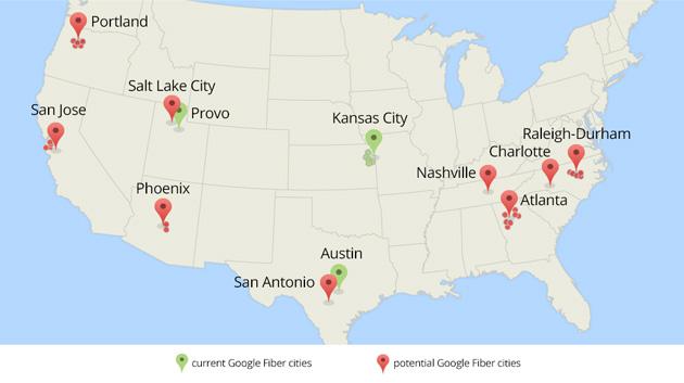 Google Fiber expansion considerations