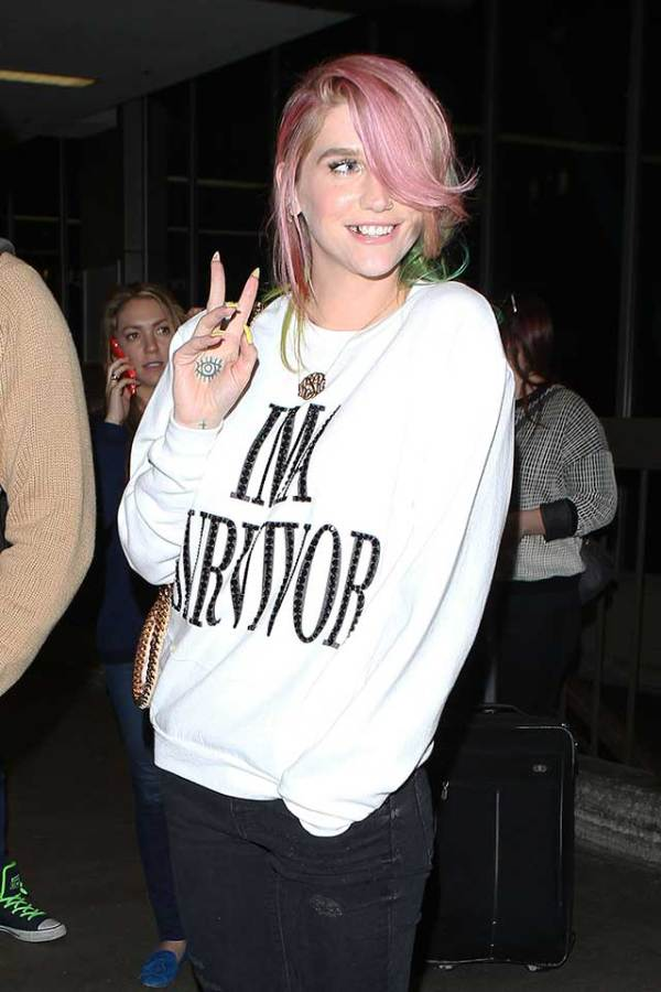 Kesha Reveals She's Working On New Music After Leaving Rehab
