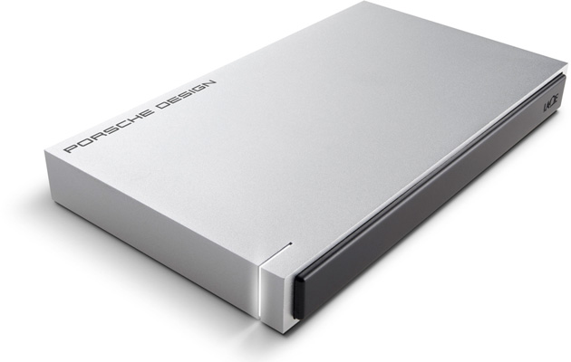 LaCie's Porsche Design Mobile Drive with USB Type-C