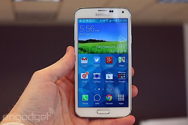 Samsung secondo le informazioni ricevute ha venduto 4 milioni meno galassia S5s che la galassia S4s
