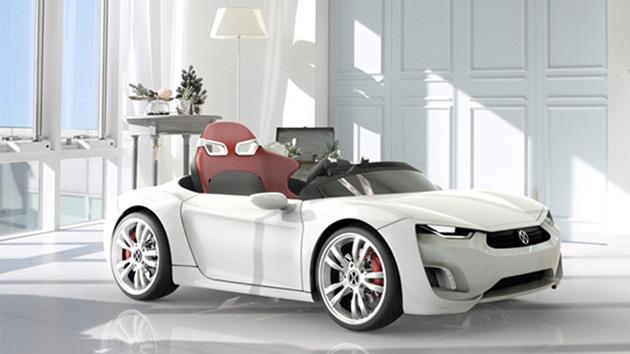 """I vostri bambini possono condurre questa elettrica e Androide fornita """"automobile sportiva"""""""