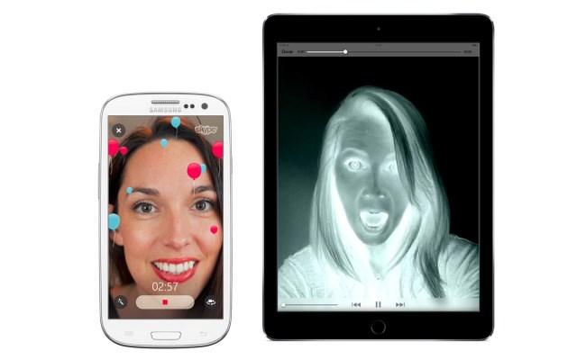Video filters in Skype