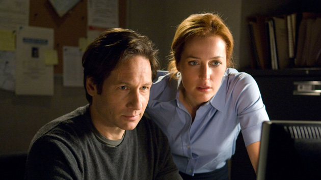 Mulder and Scully tackle a case in 'The X-Files'