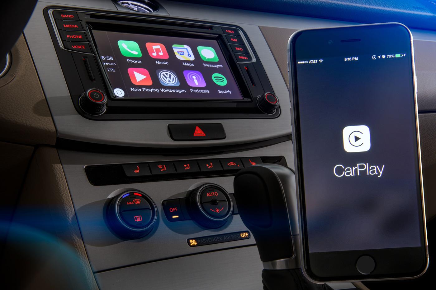 I reclami Apple di VW non lo lascerebbero mostrare CarPlay senza fili a CES