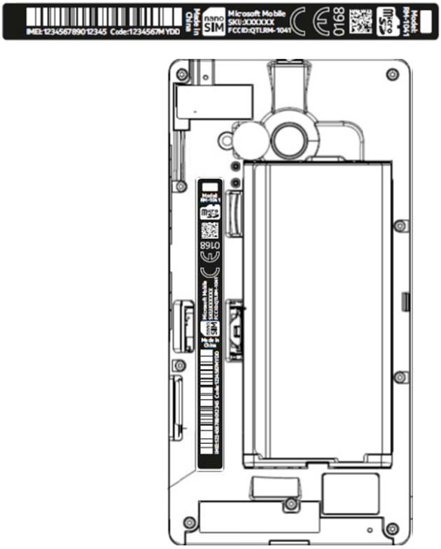 Lumia 735 at the FCC