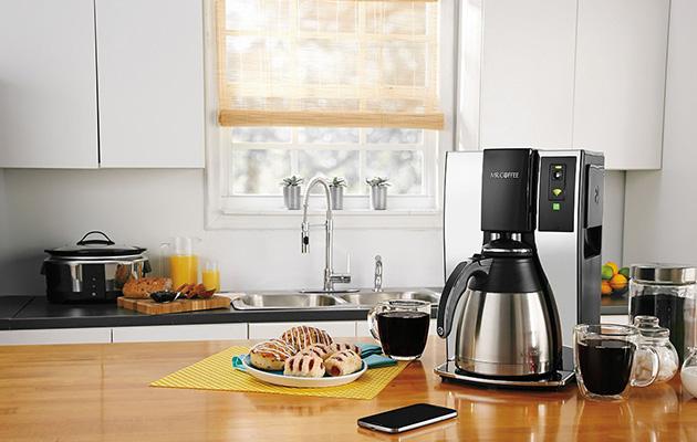 Belkin ed il sig. Coffee vogliono fare il vostro primo vaso via WiFi