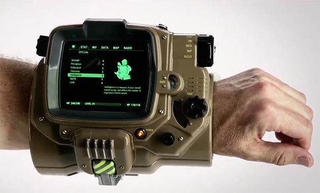 La edición limitada de Fallout incluirá un Pip-boy real
