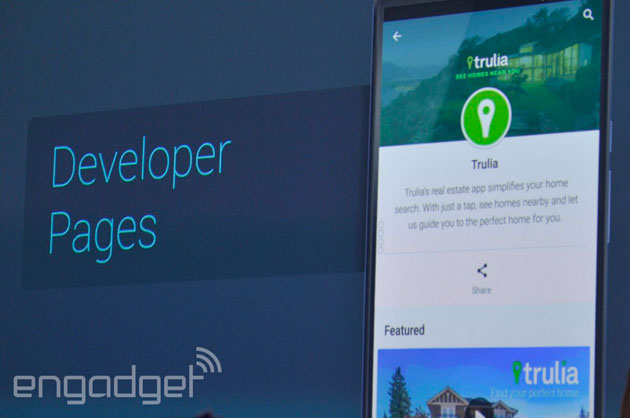 Google Play Store Developer Pages
