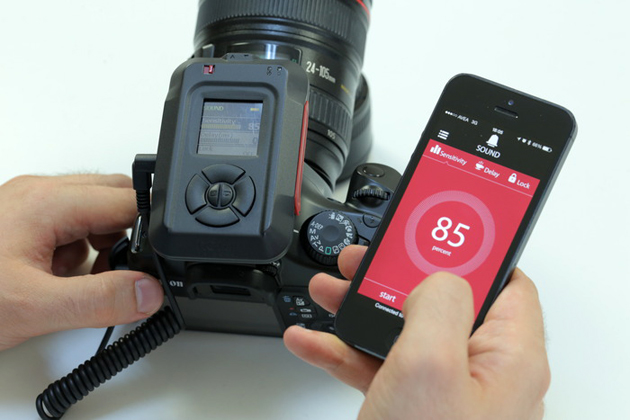 MIOPS controlling a DSLR