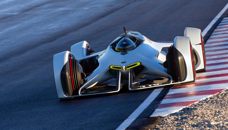 """Chevrolet rivela """"Gran futuristico Turismo 6 automobile di concetto"""