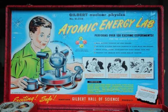 dangerous recalled toys, Gilbert  U-238 Atomic Energy Lab