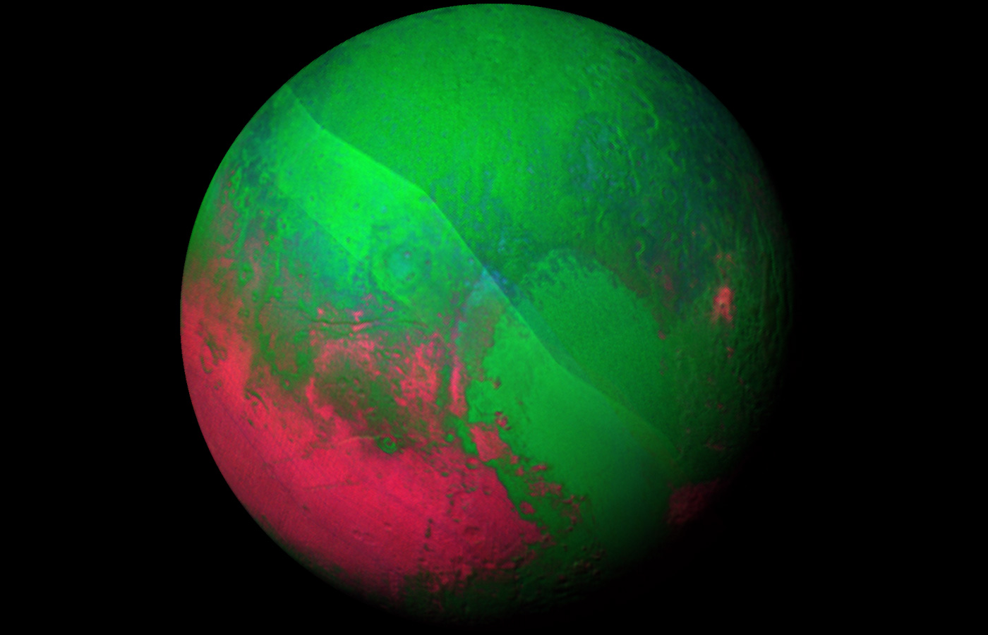 Pluto Gets Rainbow Hued In Nasa S Latest Images