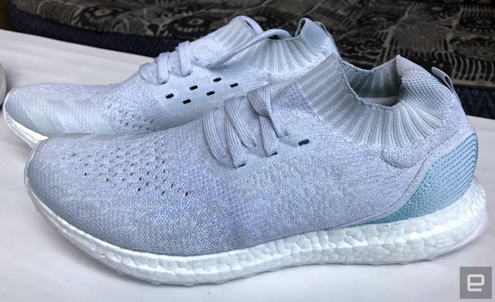 mit Ozeanplastik recycletem Adidas ersten Schuh verkauft 8PwknO0X