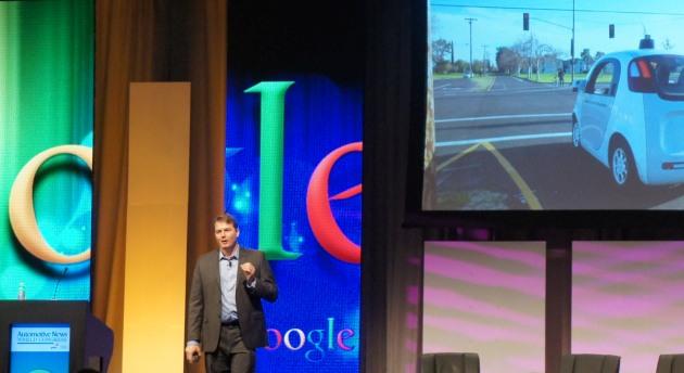 Chris Urmson, director Self Driving Cars @ Google