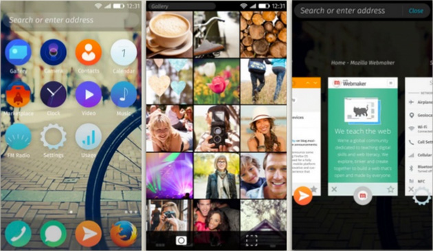 Firefox OS 2.0 interface preview