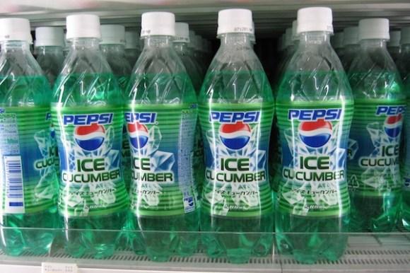 worst consumer product flavors, ice cucumber pepsi