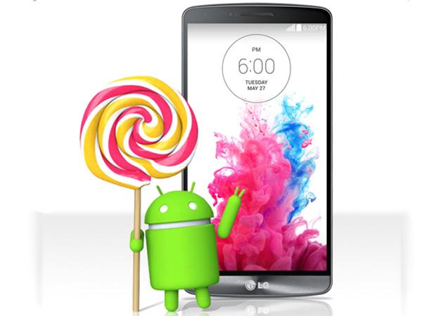 I telefoni del LG sono i primi per ottenere un aggiornamento della lecca lecca di androide