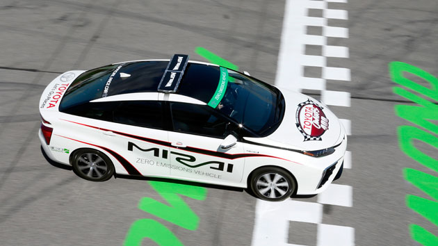 Toyota's Mirai NASCAR pace car