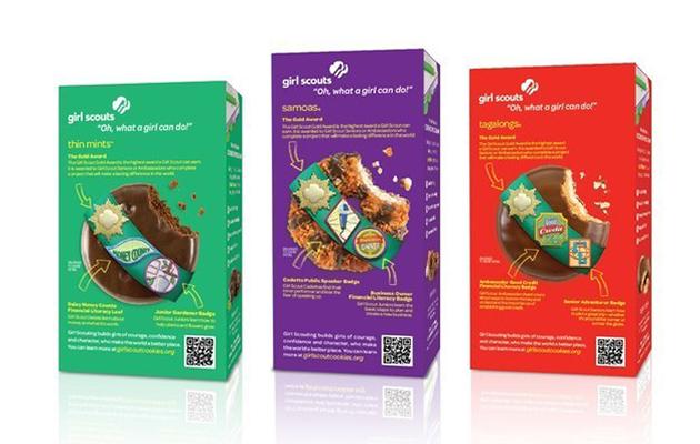 I girl scout possono ora vendere i loro biscotti online